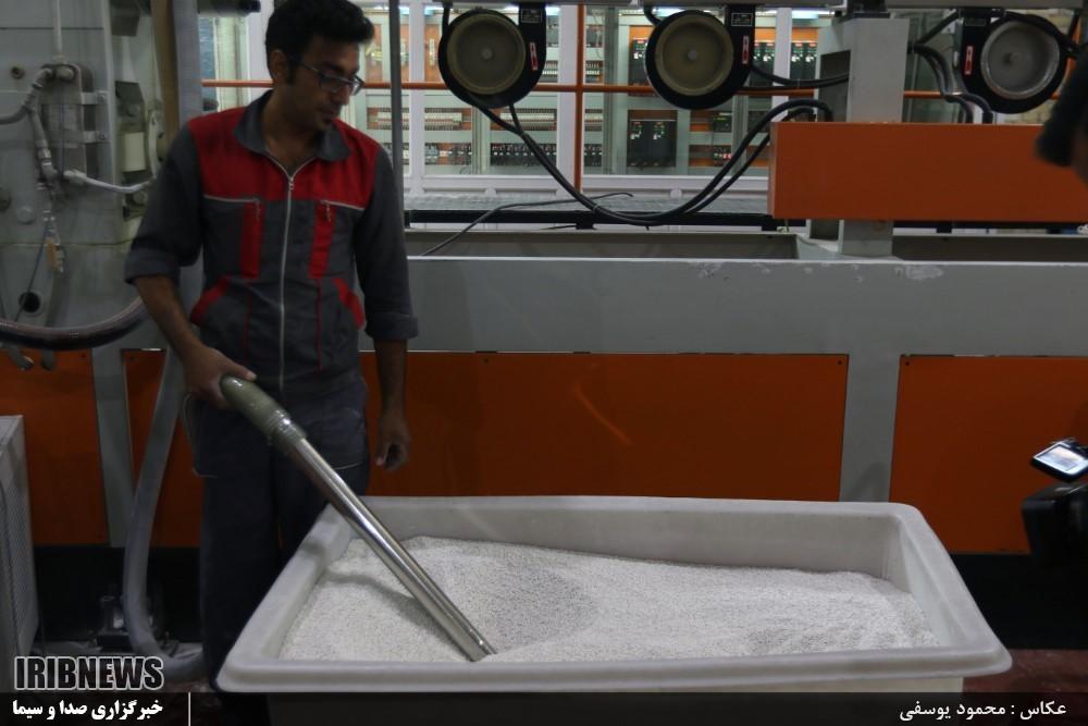 کارخانه کاغذ سنگی در یزد