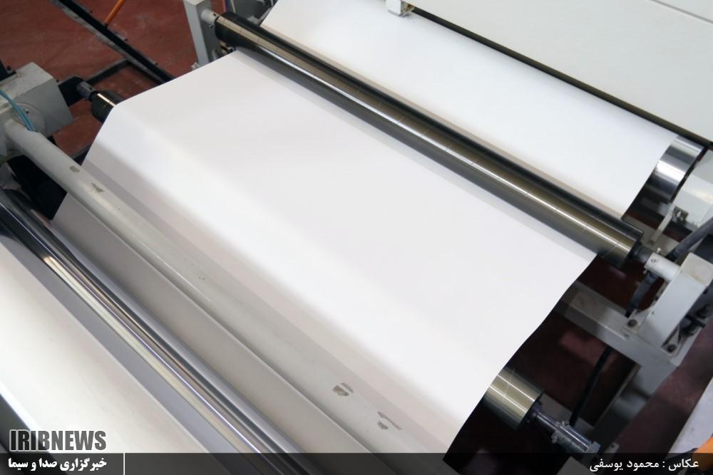 کارخانه تولید کاغذ از پودر کربنات کلسیم در یزد با برند جی ول