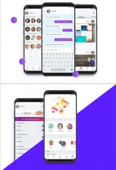 Website, mobile app