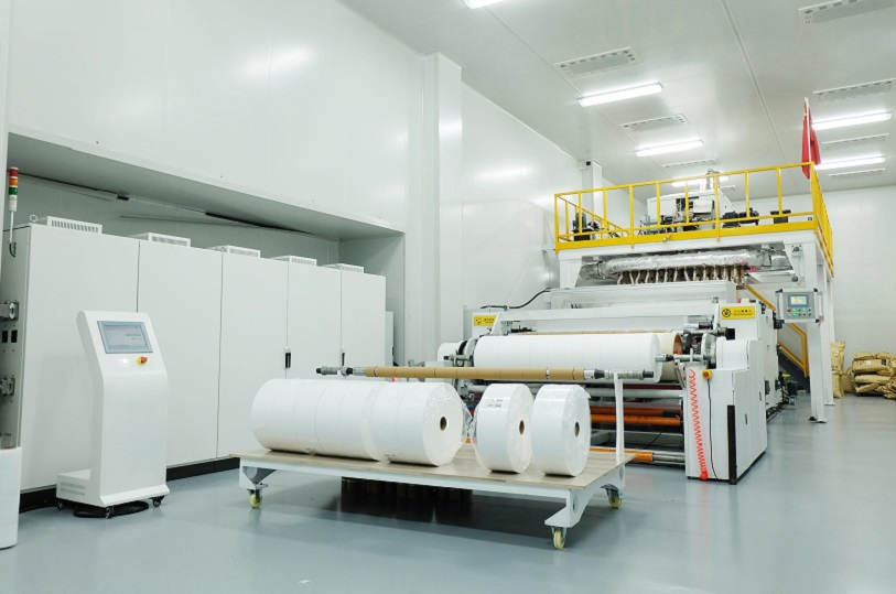 ▶️ pp meltblown fabric production line