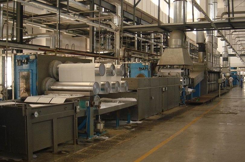 ▶️ polyester staple fiber production line