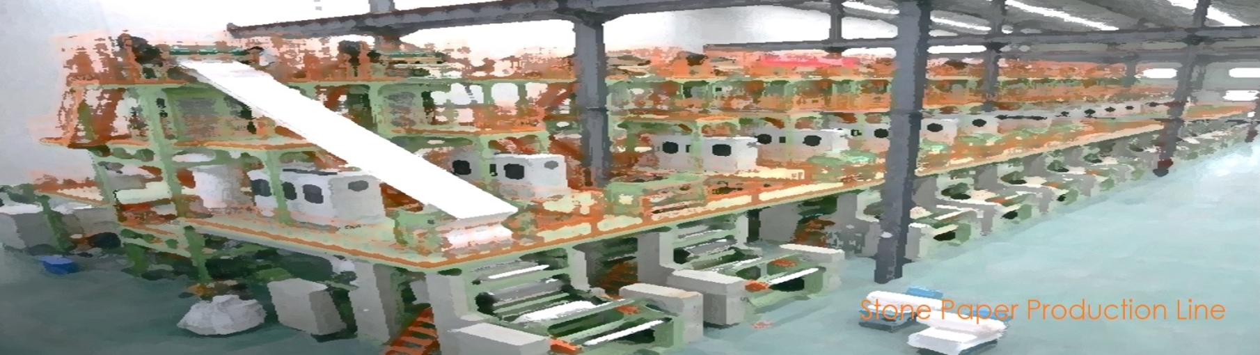 stone paper-Machinery